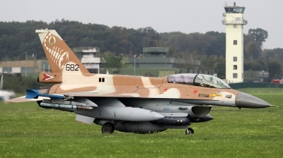 Photo ID 244930 by Walter Van Bel. Israel Air Force General Dynamics F 16D Fighting Falcon, 682