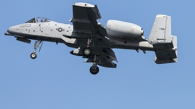 Photo ID 245827 by Aaron C. Rhodes. USA Air Force Fairchild A 10C Thunderbolt II, 81 0980