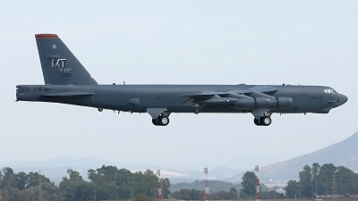Photo ID 244976 by Manuel Fernandez. USA Air Force Boeing B 52H Stratofortress, 60 0005