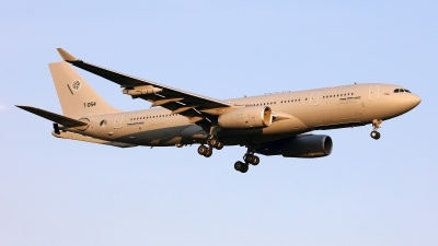 Photo ID 244982 by Carl Brent. Netherlands Air Force Airbus A330 243MRTT, T 054