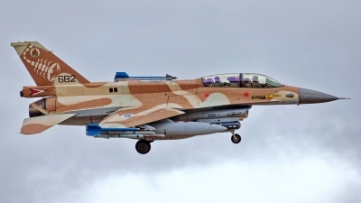 Photo ID 244994 by Rainer Mueller. Israel Air Force General Dynamics F 16D Fighting Falcon, 682