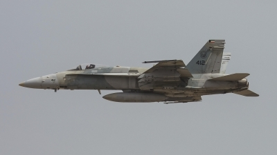 Photo ID 245011 by Lars Kitschke. Kuwait Air Force McDonnell Douglas F A 18C Hornet, 412