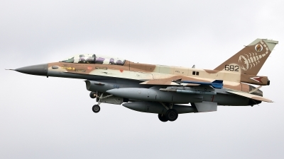 Photo ID 245081 by Walter Van Bel. Israel Air Force General Dynamics F 16D Fighting Falcon, 682