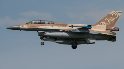 Photo ID 245131 by Moritz Borstell. Israel Air Force General Dynamics F 16D Fighting Falcon, 682