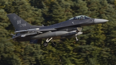 Photo ID 245213 by Peter Boschert. USA Air Force General Dynamics F 16C Fighting Falcon, 90 0709