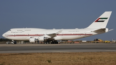 Photo ID 245202 by Fernando Sousa. United Arab Emirates Government Boeing 747 422, A6 HRM
