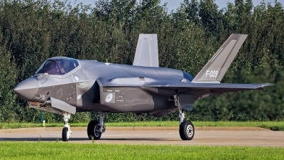 Photo ID 245320 by Rainer Mueller. Netherlands Air Force Lockheed Martin F 35A Lightning II, F 009