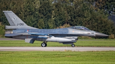 Photo ID 245324 by Rainer Mueller. Netherlands Air Force General Dynamics F 16AM Fighting Falcon, J 061