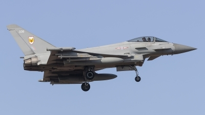 Photo ID 245329 by Tom Gibbons. UK Air Force Eurofighter Typhoon FGR4, ZK336