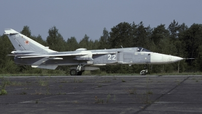 Photo ID 245367 by Chris Lofting. Russia Air Force Sukhoi Su 24MR, 22 WHITE