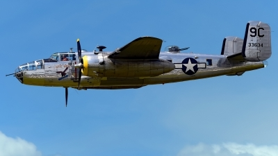Photo ID 245377 by Rod Dermo. Private Yankee Air Force North American B 25D Mitchell, N3774