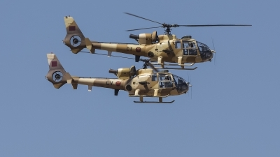 Photo ID 245383 by Lars Kitschke. Morocco Air Force Aerospatiale SA 342L Gazelle, CN ACT