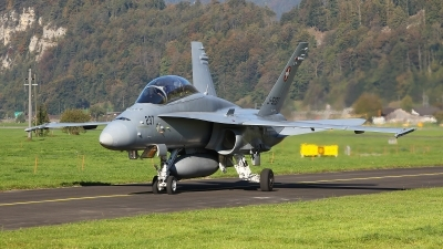 Photo ID 245471 by Lars Kitschke. Switzerland Air Force McDonnell Douglas F A 18D Hornet, J 5237