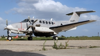 Photo ID 245582 by Duncan Portelli Malta. Malta Air Force Beech Super King Air B200, AS1126