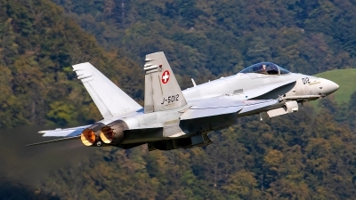 Photo ID 245610 by Bruno Geiger - Aviation Media. Switzerland Air Force McDonnell Douglas F A 18C Hornet, J 5012