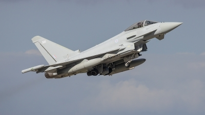 Photo ID 245655 by Lars Kitschke. UK Air Force Eurofighter Typhoon FGR4, ZK366