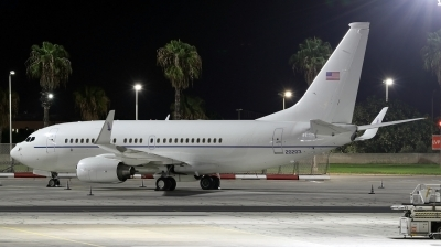 Photo ID 245663 by Duncan Portelli Malta. USA Air Force Boeing C 40C 737 7CP BBJ, 02 0203