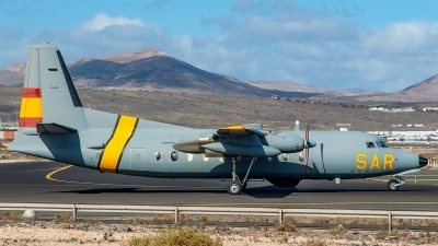 Photo ID 245683 by Bruno Geiger - Aviation Media. Spain Air Force Fokker F 27 400MPA, D 2 02