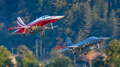 Photo ID 245693 by Bruno Geiger - Aviation Media. Switzerland Air Force Northrop F 5E Tiger II, J 3094