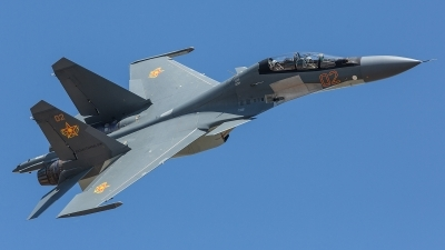 Photo ID 245749 by Lars Kitschke. Kazakhstan Air Force Sukhoi Su 30SM Flanker, 02 RED