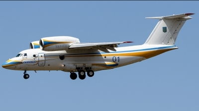 Photo ID 245859 by Marco Jin. Ukraine Air Force Antonov An 74TK 200VIP, 01