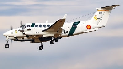Photo ID 245962 by Ruben Galindo. Spain Guardia Civil Beech Super King Air 350i, DT 05 01 10224