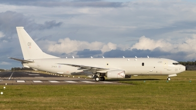 Photo ID 245970 by Tom Gibbons. UK Air Force Boeing P 8A Poseidon 737 800ERX, ZP801