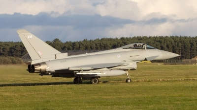 Photo ID 246072 by Tom Gibbons. UK Air Force Eurofighter Typhoon FGR4, ZK338