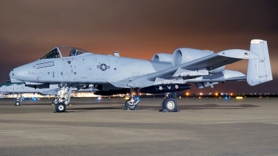 Photo ID 246146 by Misael Ocasio Hernandez. USA Air Force Fairchild A 10C Thunderbolt II, 81 0980