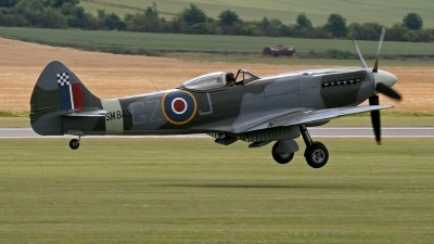 Photo ID 246275 by Niels Roman / VORTEX-images. Private Spitfire Ltd Supermarine 394 Spitfire FR XVIIIe, G BUOS