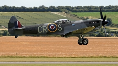 Photo ID 246276 by Niels Roman / VORTEX-images. Private Spitfire Ltd Supermarine 361 Spitfire LF XVIe, G OXVI