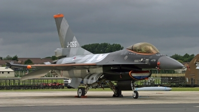 Photo ID 246341 by Peter Fothergill. Netherlands Air Force General Dynamics F 16AM Fighting Falcon, J 055