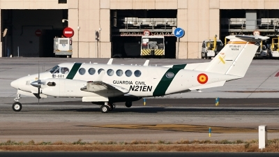 Photo ID 246394 by Manuel Fernandez. Spain Guardia Civil Beech Super King Air 350i, DT 05 01 10224