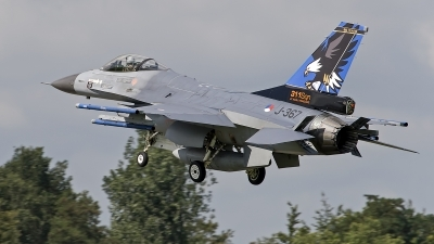 Photo ID 246412 by Niels Roman / VORTEX-images. Netherlands Air Force General Dynamics F 16AM Fighting Falcon, J 367