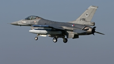 Photo ID 246440 by Niels Roman / VORTEX-images. Netherlands Air Force General Dynamics F 16AM Fighting Falcon, J 196