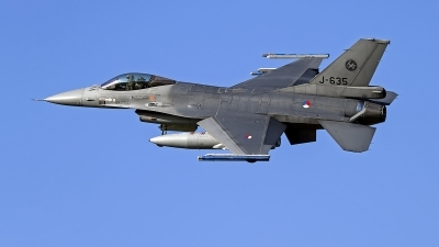 Photo ID 246449 by Niels Roman / VORTEX-images. Netherlands Air Force General Dynamics F 16AM Fighting Falcon, J 635