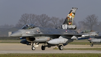 Photo ID 246423 by Niels Roman / VORTEX-images. Netherlands Air Force General Dynamics F 16AM Fighting Falcon, J 196