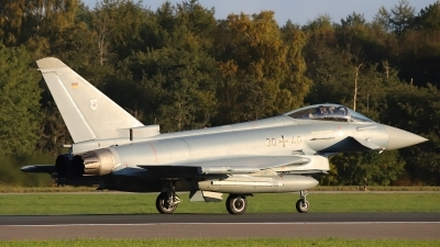 Photo ID 246436 by Benjamin Henz. Germany Air Force Eurofighter EF 2000 Typhoon S, 30 40