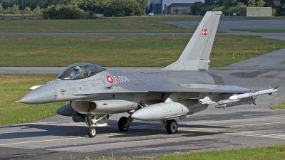 Photo ID 246454 by Niels Roman / VORTEX-images. Denmark Air Force General Dynamics F 16AM Fighting Falcon, E 004