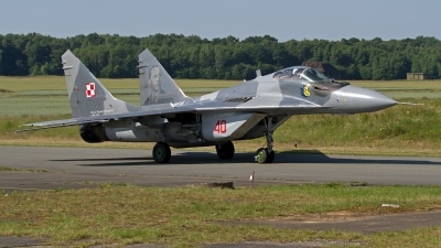 Photo ID 246554 by Niels Roman / VORTEX-images. Poland Air Force Mikoyan Gurevich MiG 29M 9 15, 40