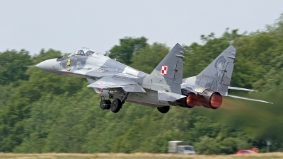 Photo ID 248579 by Niels Roman / VORTEX-images. Poland Air Force Mikoyan Gurevich MiG 29A 9 12A, 89