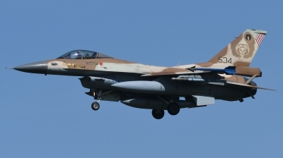 Photo ID 246563 by Hans-Werner Klein. Israel Air Force General Dynamics F 16C Fighting Falcon, 534