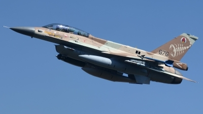 Photo ID 246564 by Hans-Werner Klein. Israel Air Force General Dynamics F 16D Fighting Falcon, 676