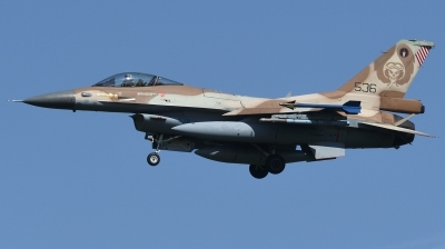 Photo ID 246565 by Hans-Werner Klein. Israel Air Force General Dynamics F 16C Fighting Falcon, 536