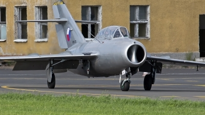 Photo ID 246659 by Niels Roman / VORTEX-images. Private Czech Flying Legends Mikoyan Gurevich MiG 15UTI, OK UTI