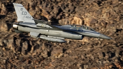 Photo ID 246567 by Niels Roman / VORTEX-images. USA Air Force General Dynamics F 16D Fighting Falcon, 91 0464