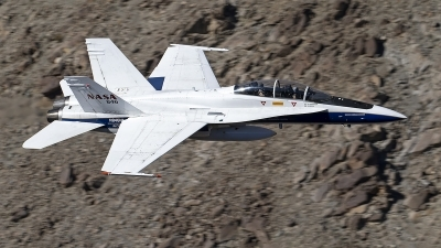 Photo ID 246584 by Niels Roman / VORTEX-images. USA NASA McDonnell Douglas F A 18B Hornet, N846NA