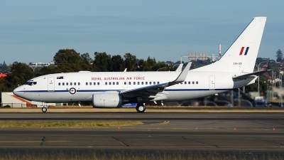 Photo ID 246671 by Lukas Kinneswenger. Australia Air Force Boeing 737 7DT BBJ, A36 001