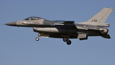 Photo ID 246689 by Stephan Sarich. Netherlands Air Force General Dynamics F 16AM Fighting Falcon, J 511