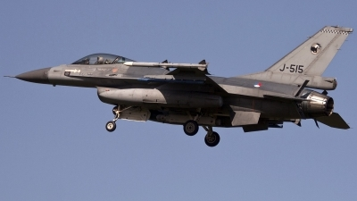 Photo ID 246691 by Stephan Sarich. Netherlands Air Force General Dynamics F 16AM Fighting Falcon, J 515